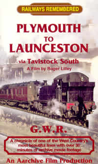 Plymouth to Launceston, via Tavistock South (57-mins)  (DVD-R)