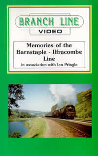 Memories of the Barnstaple to Ilfracombe Line (60-mins)  (DVD-R)