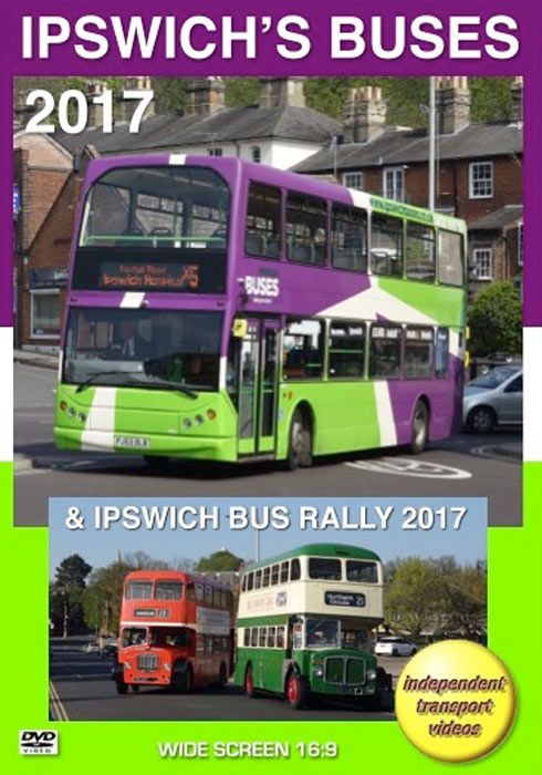 Ipswich's Buses 2017  & Ipwich Bus Rally 2017