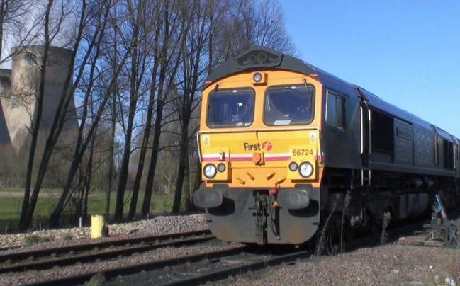 First Gbrf Freight