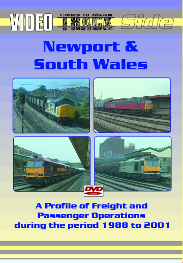 Video Trackside: Newport & South Wales 1988 to 2001